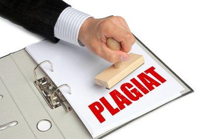 Plagiat Abschlussarbeit